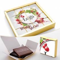 Sütlü Bitter Madlen Çikolata